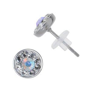 Ohrstecker Edelstahl Chirurgenstahl 316L Swarovski Kristall