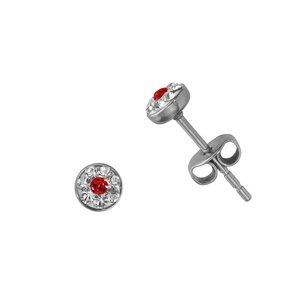 Orecchini Acciaio inox Metallo chirurgico 316L Cristallo Swarovski
