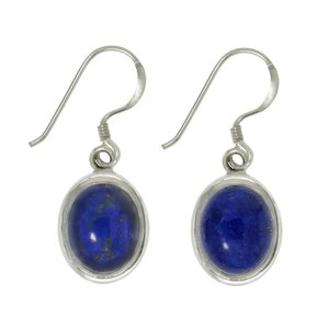 Dangle earrings Silver 925 Lapis Lazuli