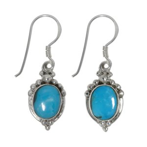 Dangle earrings Silver 925 Turquoise