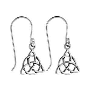 Dangle earrings Silver 925 Eternal Loop Eternity