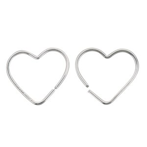 Pendientes Plata 925 Corazón Amor