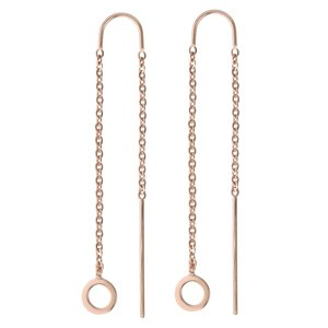 Dangle earrings Stainless Steel PVD-coating (gold color)