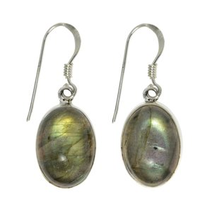 Dangle earrings Silver 925 Labradorite