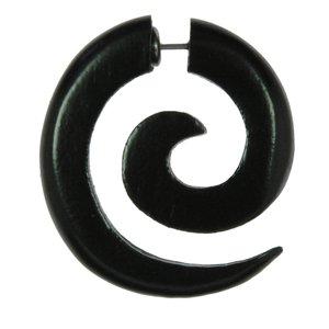 Fake-Plug Metallo chirurgico 316L Legno Spirale