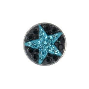 Fake plug Acero quirúrgico Cristal Estrella