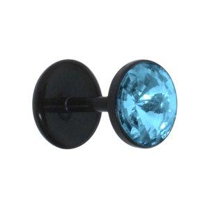 Fake-Plug Acrylglas Bioplast Swarovski Kristall