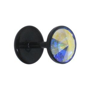 Fake-Plug Verre acrylique Bioplast Cristal Swarovski