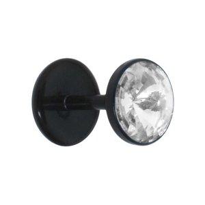 fake-plug Acryl Bioplast Swarovski kristal