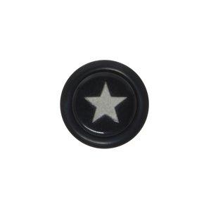 Fake-Plug Acrylglas Chirurgenstahl 316L PVC Stern