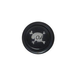 Fake-Plug Acrylglas Chirurgenstahl 316L PVC Totenkopf Schädel Knochen
