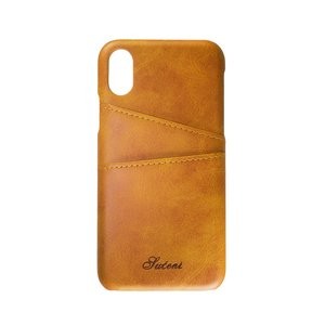 iPhone X Mobile phone case Synthetic leather