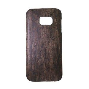 Samsung Galaxy S7 Edge Mobiele telefoon case Kunstleer Kunststof blad blaadje plantpatroon