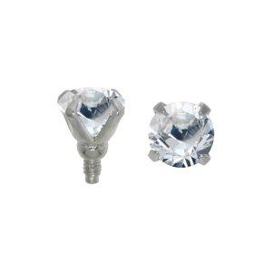Chiusura Dermal-Anchor Metallo chirurgico 316L Cristallo