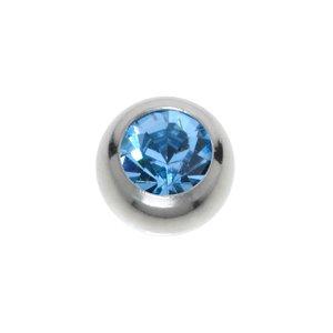 piercingsluiting Chirurgisch staal 316L Kristal van hoge kwaliteit