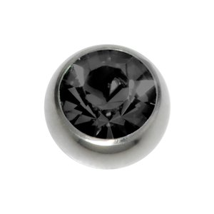 Piercingball Surgical Steel 316L Crystal