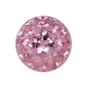 Chiusura piercing Cristallo Metallo chirurgico 316L Resina epossidica