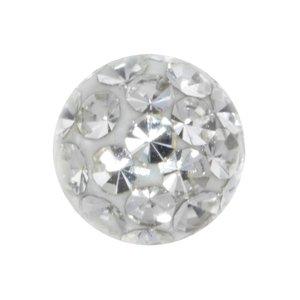 piercingsluiting Kristal Chirurgisch staal 316L Epoxihars