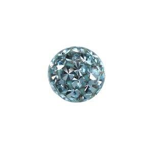 Piercingball Crystal Surgical Steel 316L Epoxy