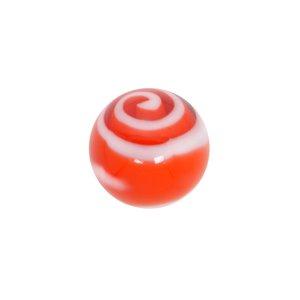 Embout de piercing Verre en acrylique Spirale