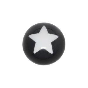 Chiusura piercing Vetro acrilico Stella