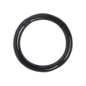 Septum piercing Surgical Steel 316L Black PVD-coating