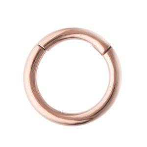 Piercing septum Acero quirúrgico Revestimiento PVD (color oro)