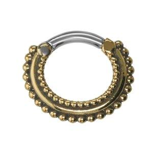 Septum piercing Surgical Steel 316L Brass