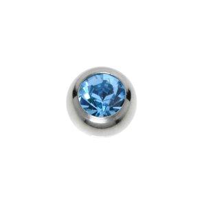 Piercing Swarovski kristal Chirurgisch staal 316L