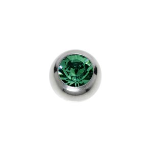 Piercing Swarovski crystal Surgical Steel 316L