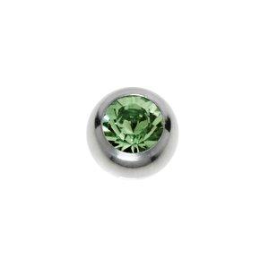 Piercing cristales de Swarovski Acero quirúrgico