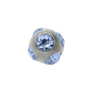Piercing Crystal Surgical Steel 316L