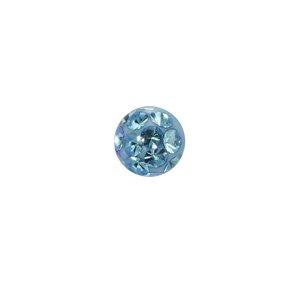 Piercing Cristallo Metallo chirurgico 316L Resina epossidica