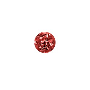 Piercing Crystal Surgical Steel 316L Epoxy