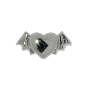 Piercing Surgical Steel 316L Heart Love Wings Bat