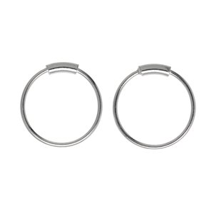 Fingernagelpiercing Silber 925