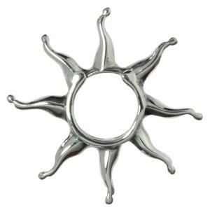 Brustwarzen-Clip Silber 925 Stern