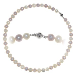 Pearl necklace Fresh water pearl Silver 925
