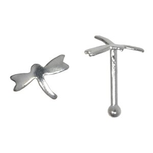 Nose piercing Silver 925 Dragonfly