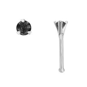 Piercing de nariz Plata 925 Circonita