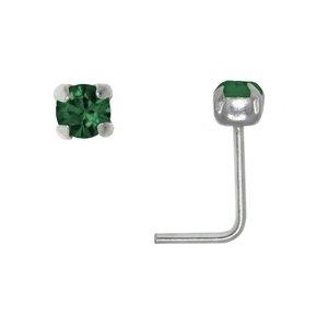 Nose piercing Silver 925 Crystal