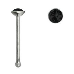 neuspiercing Zilver 925 Kristal