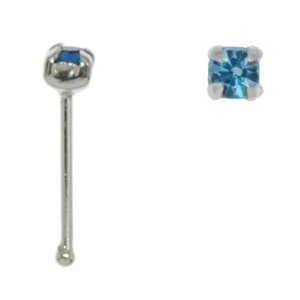 Nose piercing Silver 925 Crystal