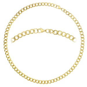 Necklace Stainless Steel PVD-coating (gold color)
