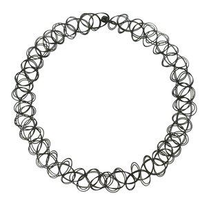 Neck jewelry Plastic