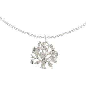 Halsschmuck Silber 925 Zirkonia Baum Baum_des_Lebens