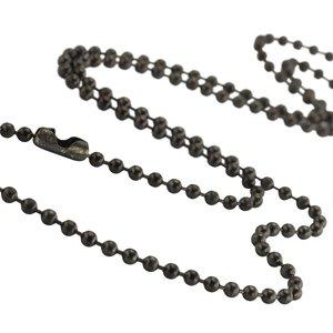 Collares Acero fino Revestimiento PVD (negro)