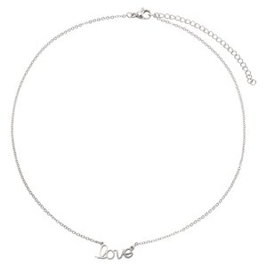 Neck jewelry Stainless Steel Love Affection