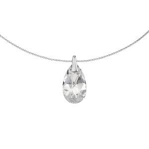 Halssieraad Zilver 925 Swarovski kristal Druppel Druppelvorm Waterdruppel