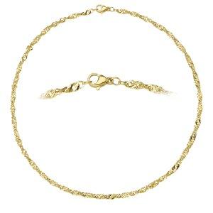 Catena Acciaio inox Rivestimento PVD (colore oro)